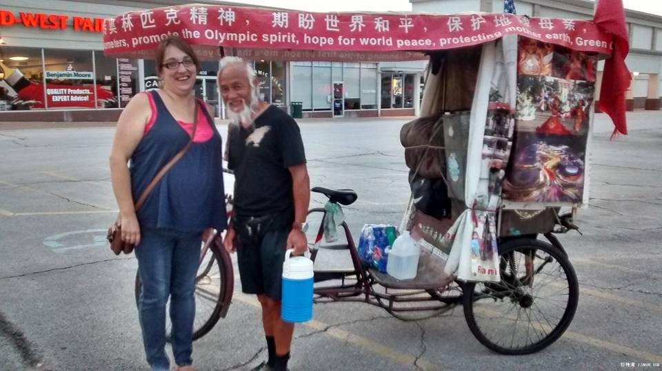 中国钢铁侠迷倒一路美女帅哥_图1-5